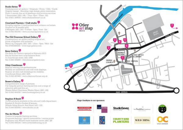 Otley art map interior 2013