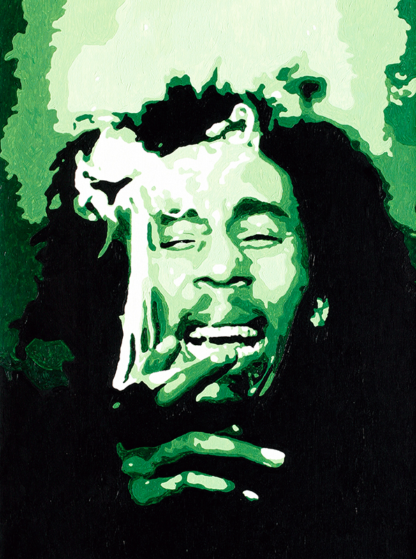 Iconic Limited Edition Pop Art Portrait On Canvas