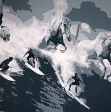 Guiness Surfers